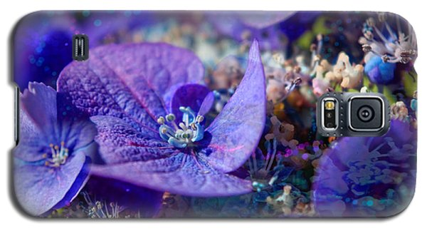 Dappled Hydrangea Galaxy S5 Case by Adria Trail