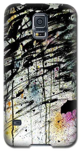 Galaxy S5 Case featuring the painting Dare 2 B Different by Oddball Art Co by Lizzy Love