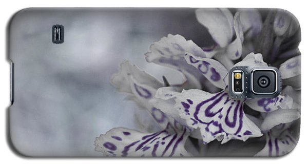 Dark Angel Of Flowers Galaxy S5 Case