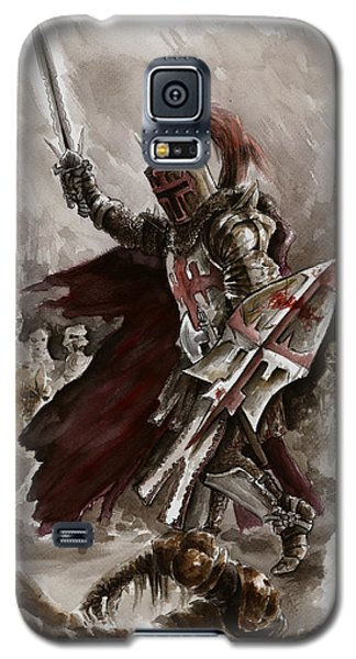 Dungeon Galaxy S5 Case - Dark Crusader by Mariusz Szmerdt