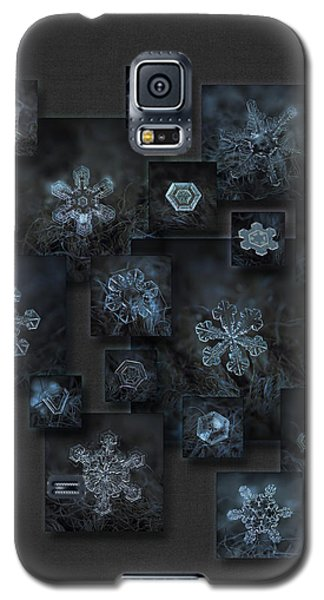 Snowflake Collage - Dark Crystals 2012-2014 Galaxy S5 Case