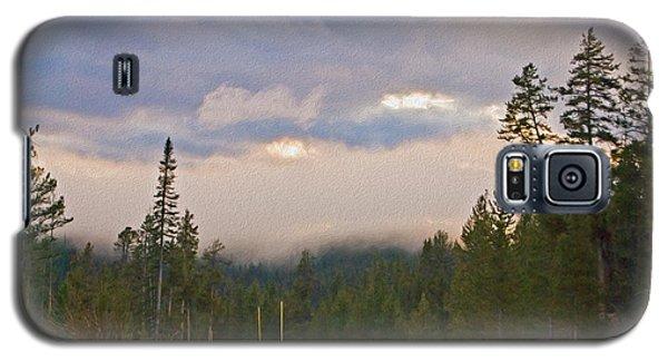 Dark Forest Morning Galaxy S5 Case