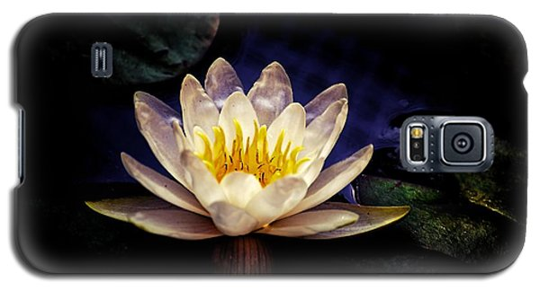 Galaxy S5 Case featuring the photograph Dark Lily by Beth Akerman