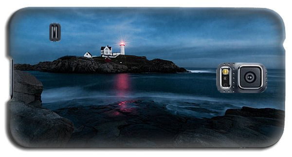 Dark Night At The Nubble Galaxy S5 Case