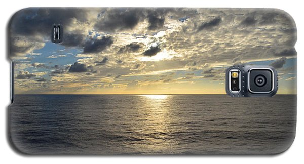 Dark Ocean Sunset Galaxy S5 Case