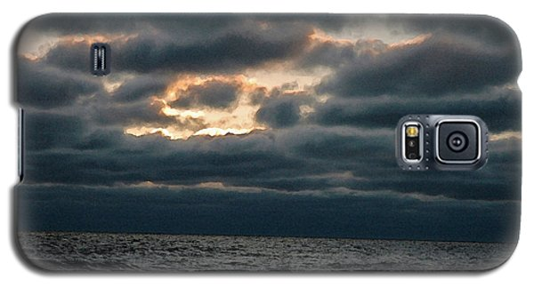 Galaxy S5 Case featuring the photograph Dark Sea by Allen Carroll