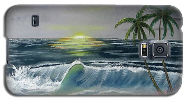 Dark Skies On The Beach Galaxy S5 Case