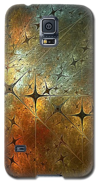 Dark Star Grid Galaxy S5 Case