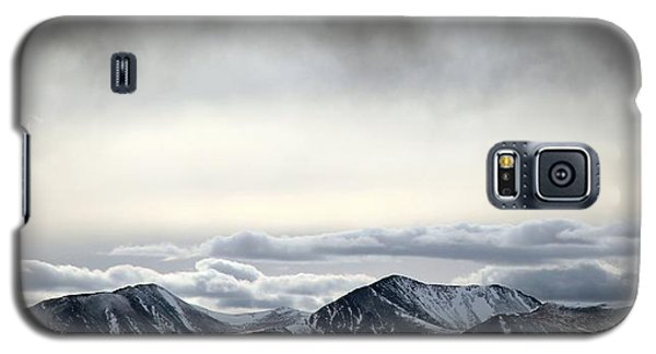 Galaxy S5 Case featuring the photograph Dark Storm Cloud Mist  by Barbara Chichester