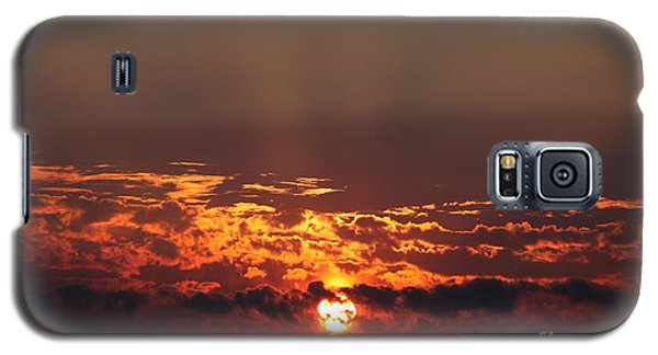 Galaxy S5 Case featuring the photograph Dark Sunset by Erica Hanel