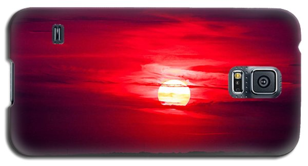 Dark Sunset Galaxy S5 Case by Julie Andel