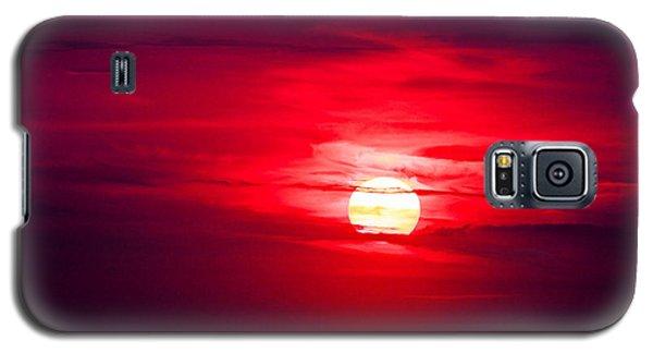 Dark Sunset Galaxy S5 Case