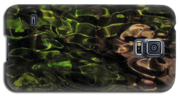 Dark Watery Green Galaxy S5 Case