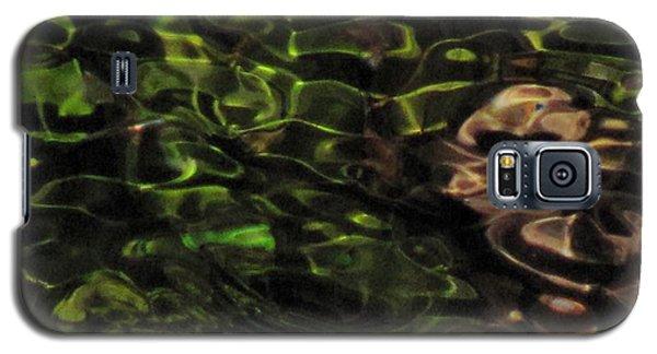 Dark Watery Green Galaxy S5 Case