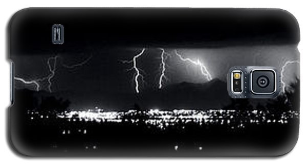 Galaxy S5 Case featuring the photograph Darkness Symphony-15x72-signed by J L Woody Wooden