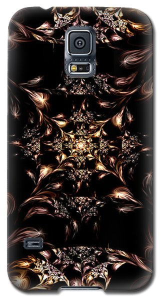 Galaxy S5 Case featuring the digital art Darkness Will Come by Lea Wiggins