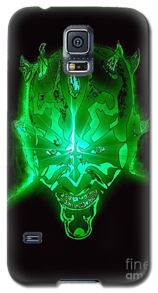 Darth Maul Green Glow Galaxy S5 Case