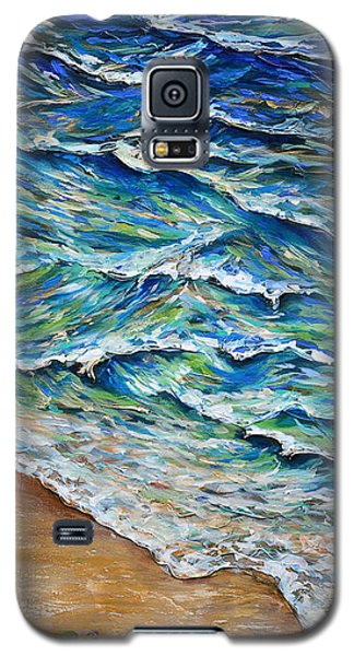 Dash To The Tide Galaxy S5 Case by Linda Olsen