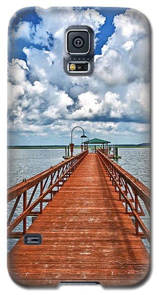 Daufuskie Pier Galaxy S5 Case