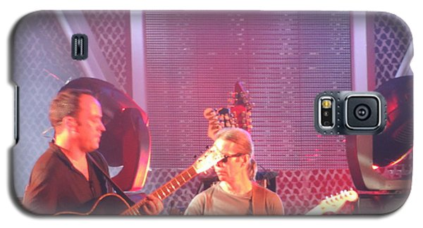 Galaxy S5 Case featuring the photograph Dave And Tim Jam On The Guitar by Aaron Martens