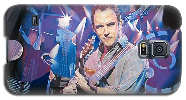 Dave Matthews And 2007 Lights Galaxy S5 Case by Joshua Morton