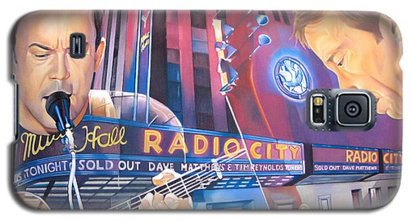 Dave Matthews And Tim Reynolds At Radio City Galaxy S5 Case by Joshua Morton