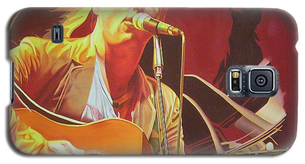 Dave Matthews At Vegoose Galaxy S5 Case by Joshua Morton