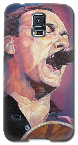 Dave Matthews Colorful Full Band Series Galaxy S5 Case by Joshua Morton