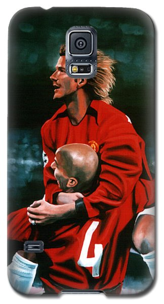 David Beckham And Juan Sebastian Veron Galaxy S5 Case