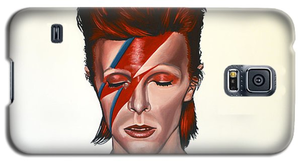 Galaxy S5 Case - David Bowie Aladdin Sane by Paul Meijering