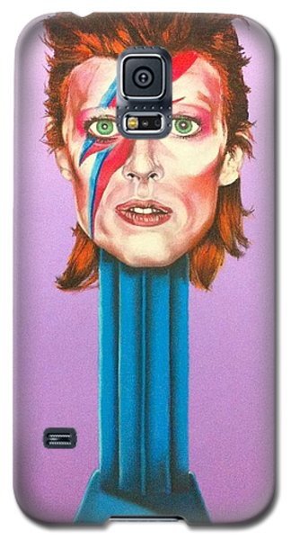 David Bowie Galaxy S5 Case