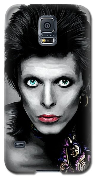 David Bowie The Chameleon Galaxy S5 Case
