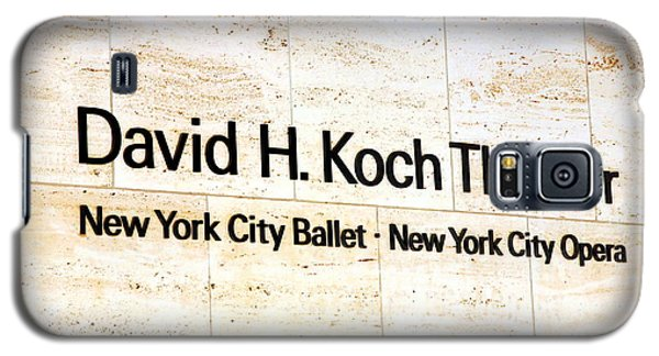 David H. Koch Theater Galaxy S5 Case by Valentino Visentini
