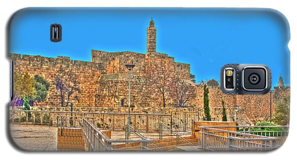 Galaxy S5 Case featuring the photograph Davids Citadel - Israel by Doc Braham