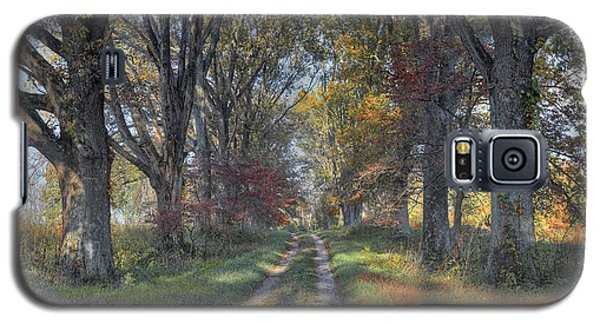 Galaxy S5 Case featuring the photograph Daviess County Lane by Wendell Thompson