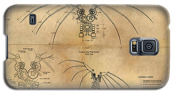 Davinci's Wings Galaxy S5 Case by James Christopher Hill