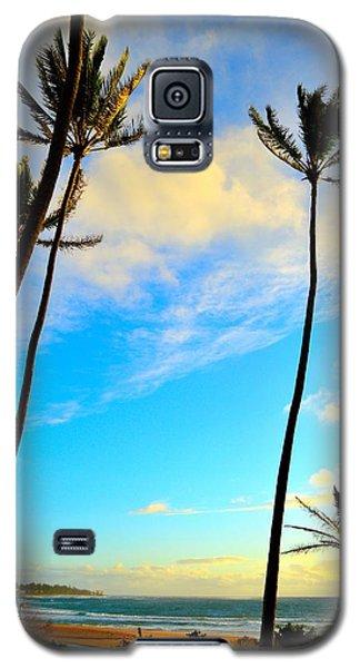 Dawn And Palms Kauia - Hawaii Galaxy S5 Case