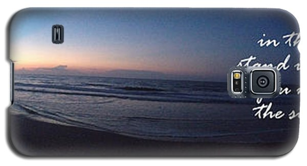 Dawn And Sunset Shout For Joy Galaxy S5 Case