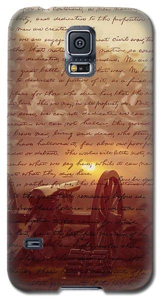 Dawn At Gettysburg Galaxy S5 Case