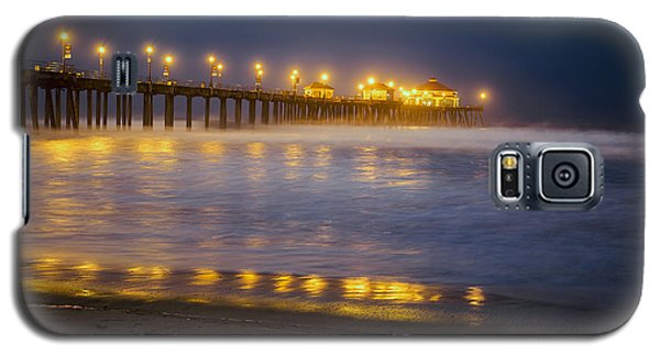 Dawn At Huntington Beach Pier By Denise Dube Galaxy S5 Case