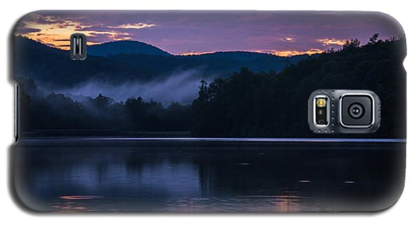 Galaxy S5 Case featuring the photograph Dawn At Julian Price Lake by Serge Skiba