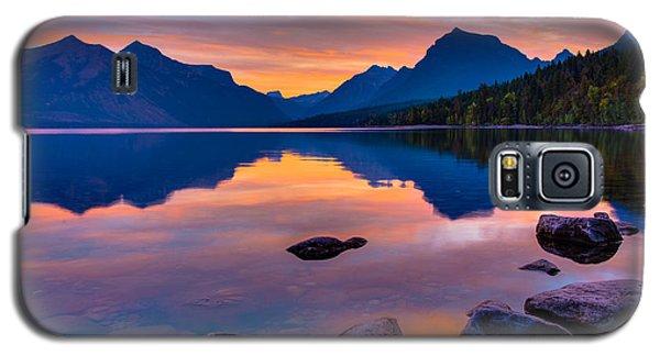 Dawn At Lake Mcdonald Galaxy S5 Case