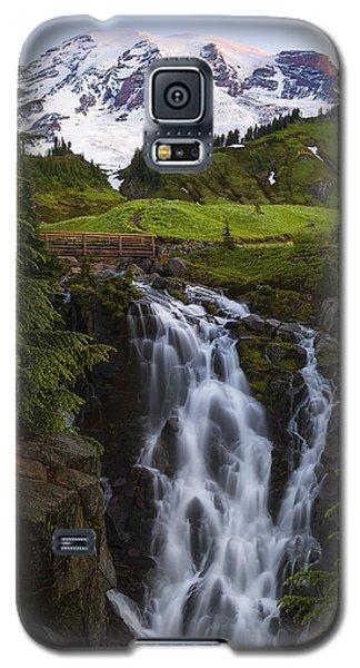 Dawn At Myrtle Falls Galaxy S5 Case by Ryan Manuel