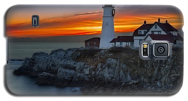 Dawn At Portalnd Head Light Galaxy S5 Case