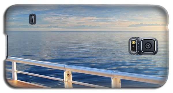 Galaxy S5 Case featuring the photograph Dawn At Sea by Jeanette French