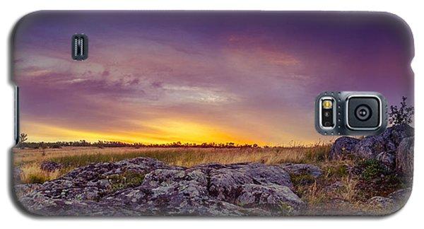 Dawn At Steppe Galaxy S5 Case