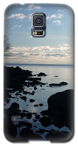 Galaxy S5 Case featuring the photograph Dawn At The Cove by James Peterson