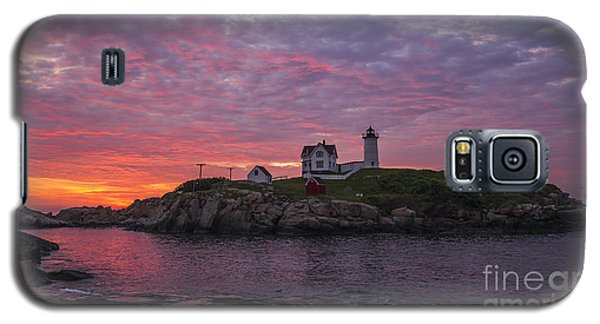 Dawn At The Nubble Galaxy S5 Case by Steven Ralser