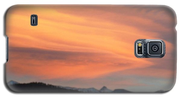 Galaxy S5 Case featuring the photograph Dawn Glory Cloud Over El Valle by Anastasia Savage Ealy