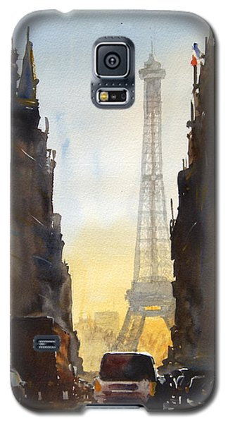 Dawn In Paris Galaxy S5 Case